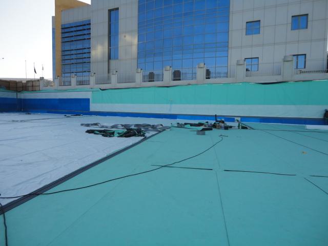 Basement Waterproofing for Turkish Hospital, Doha, Qatar